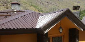 اجرای سقف شیبدار